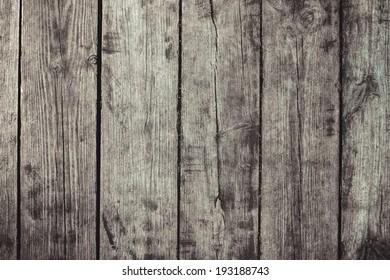 vintage stylized gray planked wood board