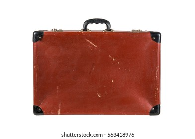 Vintage Suitcase isolated