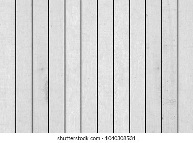 vintage surface plain grey and white wood panel background texture.