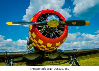 Vintage T-6 Texan Warbird