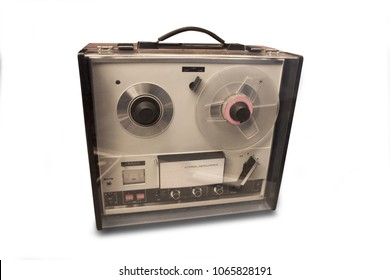 Vintage tape recorder from the seventies