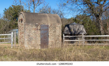 a vintage Texas kiln from the late 1800s