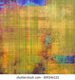 Vintage texture. With different color patterns: yellow (beige); blue; green; purple (violet)