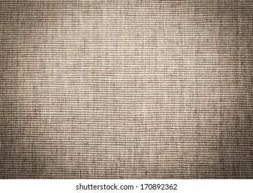 Vintage texture of natural sack as background