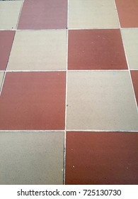 Vintage tiled floor