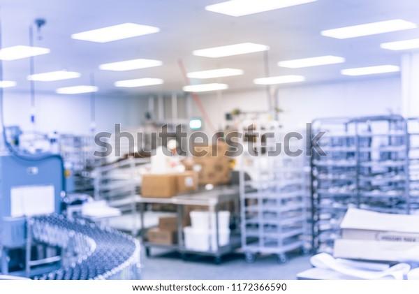 Vintage Tone Blurred Bakery Shop Wholesale Stock Photo (Edit