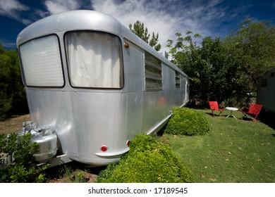 vintage trailer home