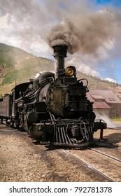 Vintage Train Engine