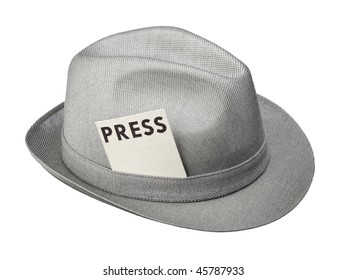 cda76ec1b0a9e Press Hat Images, Stock Photos & Vectors | Shutterstock