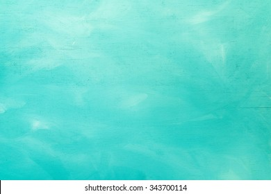 Vintage Turquoise Wood Board Painted Background - Shutterstock ID 343700114