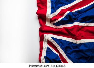 Vintage Union Jack flag, United Kingdom flag background