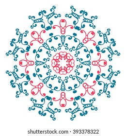 Vintage universal different eastern patterns (tiling). Endless texture can be used for wallpaper, fills, web page background, surface clothes, scrapbooking, cardmaking. Retro geometric ornament.