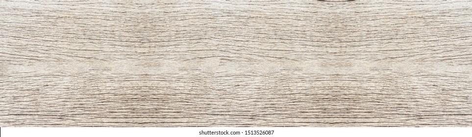 Vintage veneer wooden planks floor background panorama
