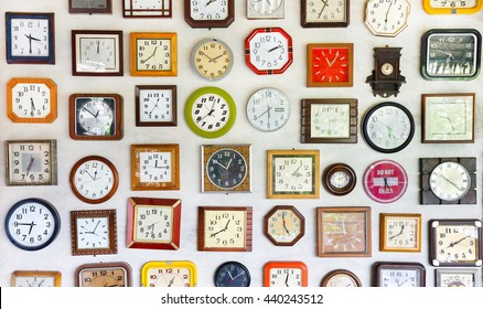 Vintage wall clocks variety of styles