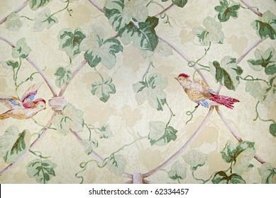 vintage wallpaper design