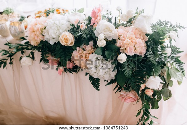 Vintage Wedding Decor Beautiful Event Venue Stock Photo (Edit Now ...