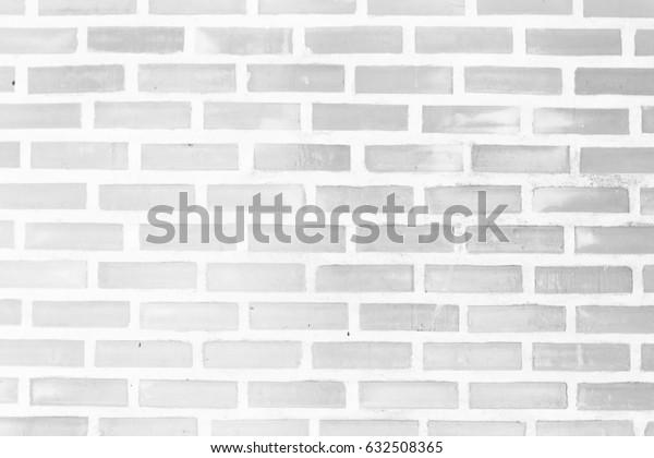 Vintage white light Square brick wall background