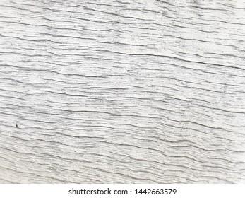Vintage white wood plank texture use as white retro style background space design