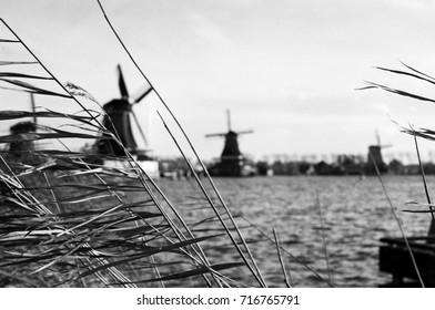 vintage windmills