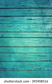 Vintage wood background with old peeling paint