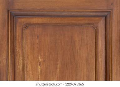 Vintage wood door, closeup