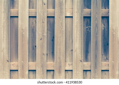 Vintage wood fence texture and background seamless