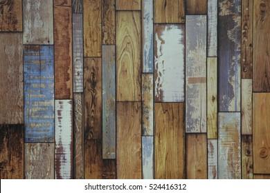 Vintage wood wallpaper