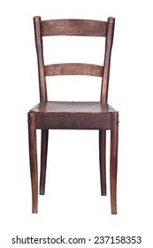 vintage wooden kitchen chair