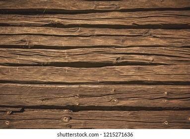 Vintage wooden planks background