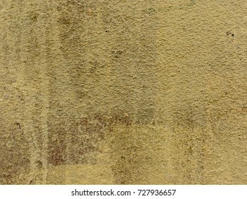 Vintage yellow metallic texture floor background