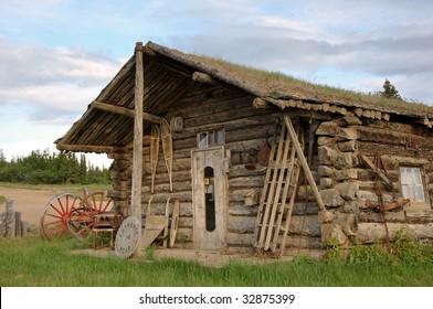 vintage Yukon cabin