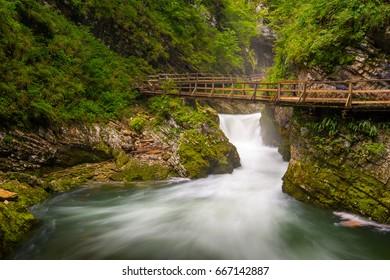 Vintgar gorge / Slovenia