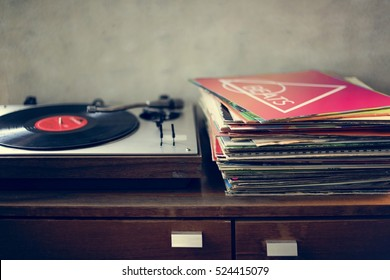 Vinyl Music Melody Leisure Rest Rhythm Concept