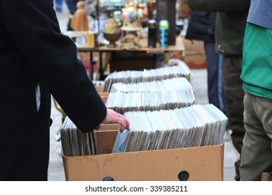 vinyl record - flea market