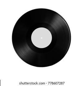 vinyl record. grey colour