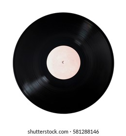 vinyl record - on a white background. isolate