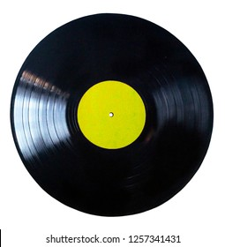 Vinyl record play music vintage