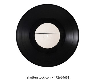 vinyl, record, retro, vintage, isolated, photo , derived, black and white, no background