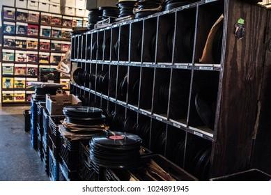 Vinyl Record Store Detroit Michigan