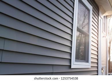 vinyl siding background residential property