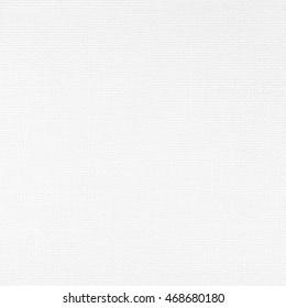 vinyl wallpaper imitating canvas. white plastic fiber with rough texture