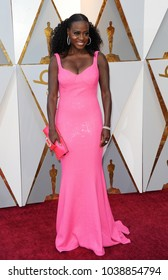 Viola Davis at the 90th Annual Academy Awards held at the Dolby Theatre in Hollywood, USA on March 4, 2018.