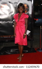 "Viola Davis at the Los Angeles Premiere of ""Disturbia"". Mann's Chinese Theater, Hollywood, CA. 04-04-07"