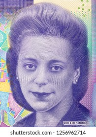 Viola Desmond portrait from Canadian money
