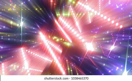violet abstract background holidays lights in motion blur image. illustration digital.
