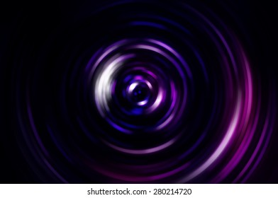 Violet abstract technology circle movement