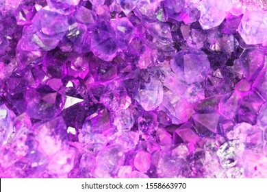 violet amethyst texture as very nice natural background
