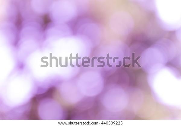 Violet and blue blur bokeh summer background