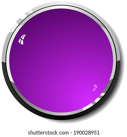 Ã?Â??olored  violet  button