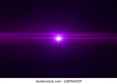 violet color bright lens flare pulse flashes leak for transitions on black background,movie titles and overlaying